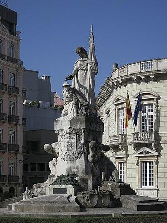 Maximiano Alves - Image: Maximiano Alves Monumento aos Mortos da Grande Guerra img 8435