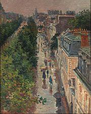 Escena de la calle en París , 1896
