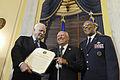 McCain and Spencer present Presidential Unit Citation Award 150707-F-EK235-391.jpg