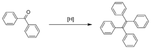 McMurry reaction - The McMurry reaction of benzophenone