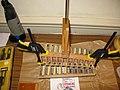 Melodeon Makers (51) Treble Reed block assembled (2008-10-15 19.34.30 by Paul Johnson).jpg