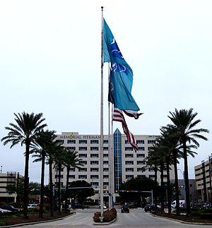 Memorial Hermann Memorial City Medical Center - Image: Memorial Hermann Memorial City entrance