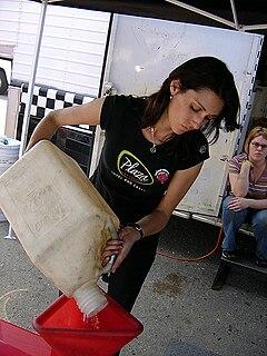 Mendy Fry American racecar driver