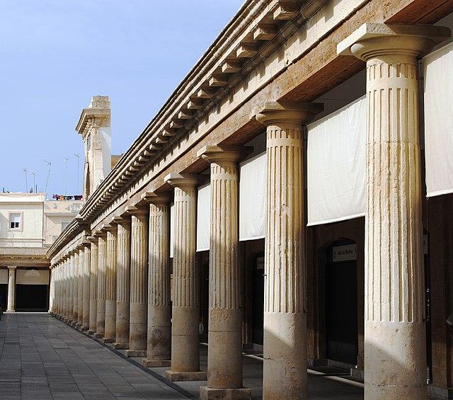 Plaza de abastos de Cádiz