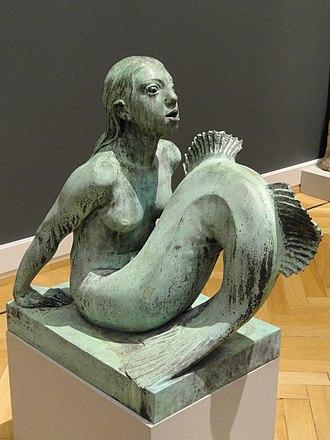 Mermaid (Carl-Nielsen) - Image: Mermaid by Anne Marie Carl Nielsen Statens Museum for Kunst, Copenhagen DSC08223