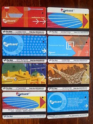Metcard - Several Metcards