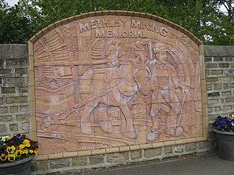 Methley - Mining Memorial, Main Street