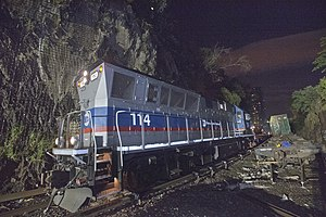 Brookville BL20GH - Image: Metro North Cleanup Continues (9358708438)
