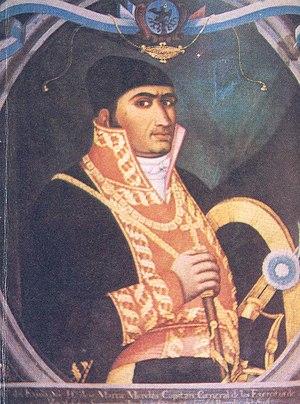 Juan Almonte - José María Morelos, the father of Almonte.