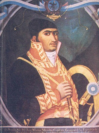 Juan Almonte - José María Morelos, the father of Almonte.