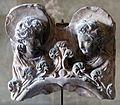 Michele da firenze, anconetta con la madonna col bambino e due formelle con busti d'angeli, xv secolo 03.JPG