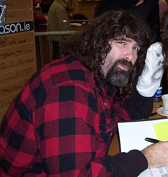Sock puppet - Pro wrestler Mick Foley and his accomplice, Mr. Socko