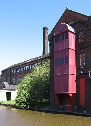 Middleport, Staffordshire - Image: Middleport Pottery (Geograph 2410937 by Dave Bevis)