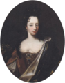 Mignard Pierre, circle of - Anne Marie d'Orléans, oval.png