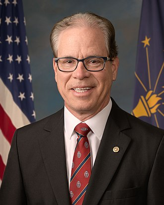 2018 United States Senate election in Indiana - Image: Mike Braun, Official Portrait, 116th Congress