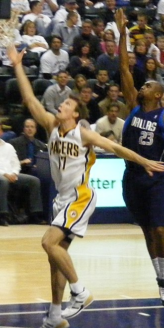 Mike Dunleavy Jr. - Dunleavy with the Pacers