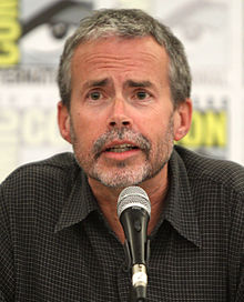 Mike Scully at the 2011 San Diego Comic-Con