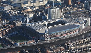 Cardiff Arms Park Sports venue in Cardiff, Wales