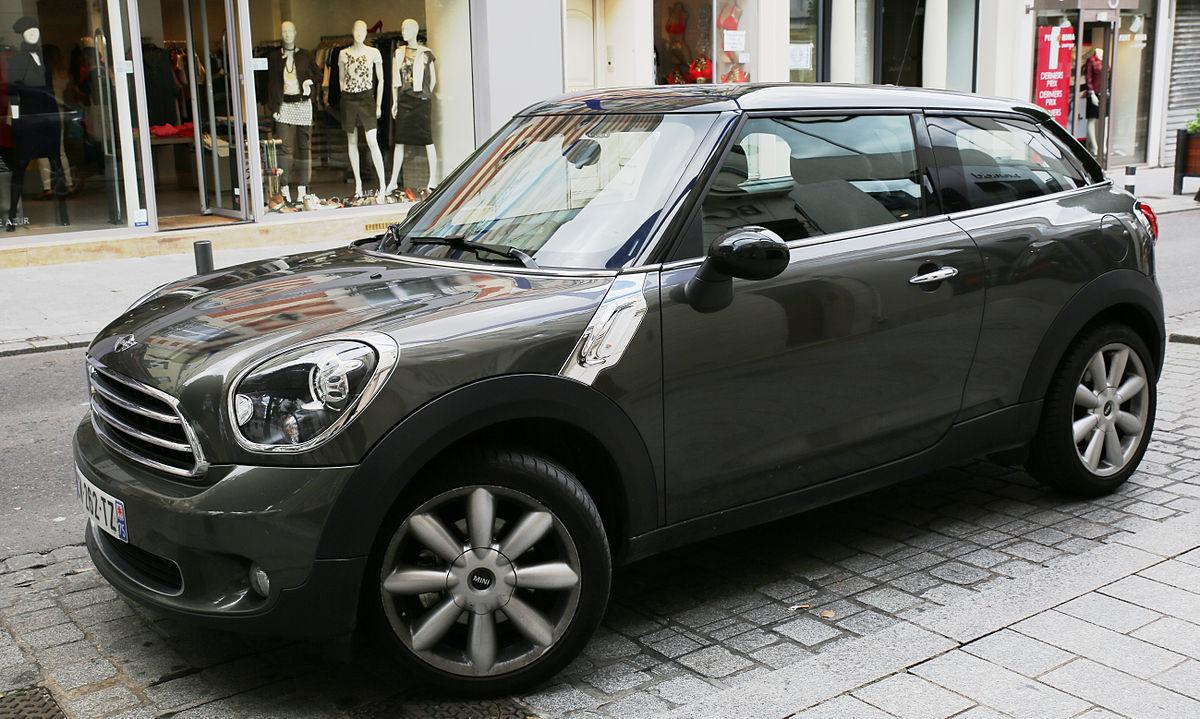 Range Rover Evoque >> Mini Paceman - Wikipedia