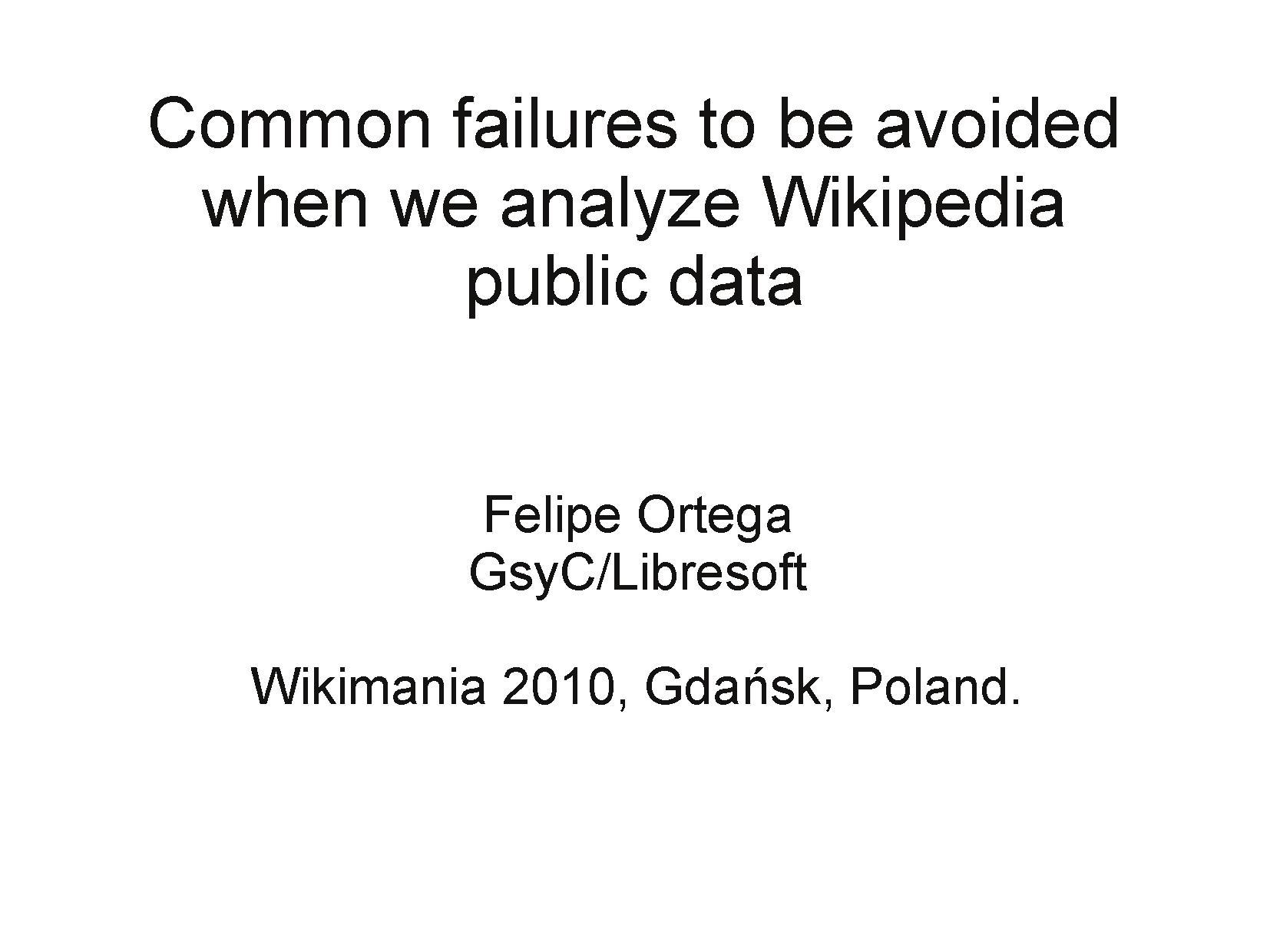 Mining Wikipedia public data, Wikimania 2010.pdf