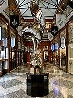 Mirage sculpture by Gidon Graetz at the Brisbane Arcade 02.jpg