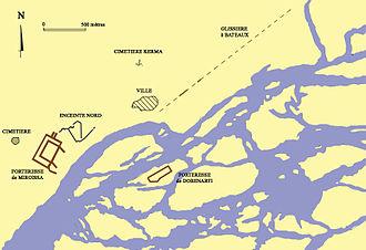 Mirgissa - Map of Mirgissa
