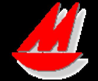 Mirror (dinghy) - Image: Mirror sail emblem