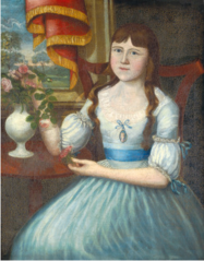 Miss Daggett of New Haven, Connecticut (possibly Amelia Martha)