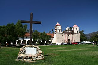Spanish Americans - Mission Santa Barbara was founded in 1786.