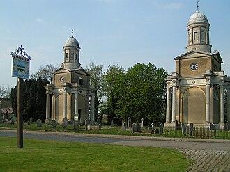 Mistley - Image: Mistley towers 700