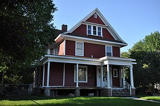 National Register of Historic Places listings in Davison County, South Dakota - Image: Mitchell SD EB Bobb House