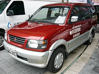 Mitsubishi Freeca - 1997–2001 Mitsubishi Freeca (pre-facelift, Taiwan)