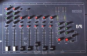 Audio mixing (recorded music) - A simple mixing console