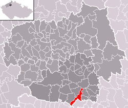 Location of Mnetěš