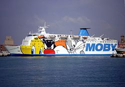 The Moby Vincent in Livorno, 2007