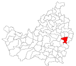 Location of Mociu