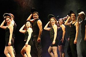 Chorus line - A modern chorus line