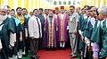 Mohd. Hamid Ansari with the faculty members at the 61st Convocation of Aligarh Muslim University, in Aligarh, Uttar Pradesh on March 29, 2014. The Governor of Uttar Pradesh, Shri B.L. Joshi is also seen.jpg