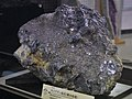 Molybdenum ore displayed at Mining Museum of Akita University.jpg