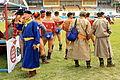 Mongolskie zapasy na stadionie w Ułan Bator 30.JPG