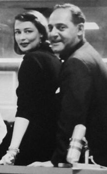 Tedi Thurman and Ben Grauer, 1957