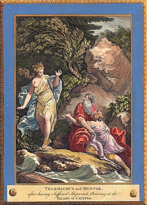 Charles Monnet - Image: Monnet Telemachus and Mentor