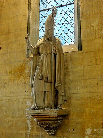 28 mai : Saint Germain de Paris 360px-Mont-l%27%C3%89v%C3%AAque_%2860%29%2C_%C3%A9glise_Saint-Germain%2C_statue_de_saint_Germain