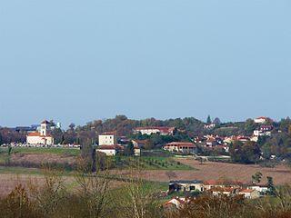Montagrier Commune in Nouvelle-Aquitaine, France