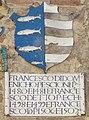 Montaione, palazzo pretorio, stemma pescioni 1506-1507.jpg