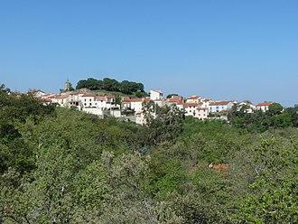 Montesquieu-des-Albères - A general view of the village and castle of Montesquieu-des-Albères