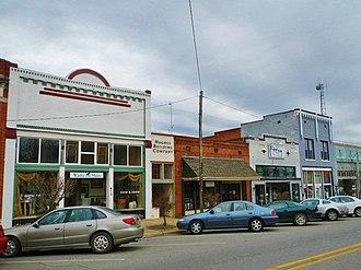 Montevallo, Alabama - Montevallo in 2012