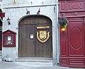 Montréal Maison Louis-Viger enseigne les Filles du Roy.JPG