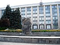 Monument dedicated to the Victims of Soviet occupation in front of The Government - panoramio.jpg