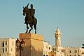 Monument of president Habib Bourguiba,La Goulette. Northern Tunisia, Mediterranean Sea, Northern Africa.jpg